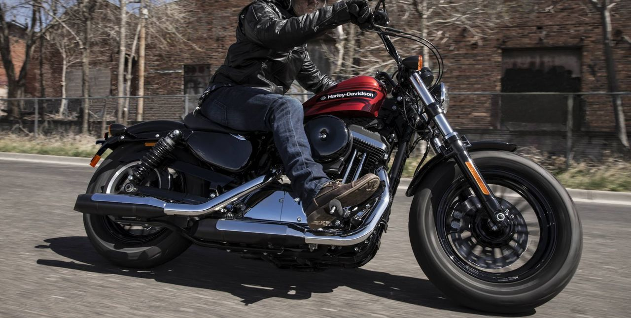 Sportster Forty-Eight Action Foto