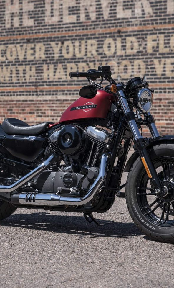 H-D Sportster Forty-Eight Gabel