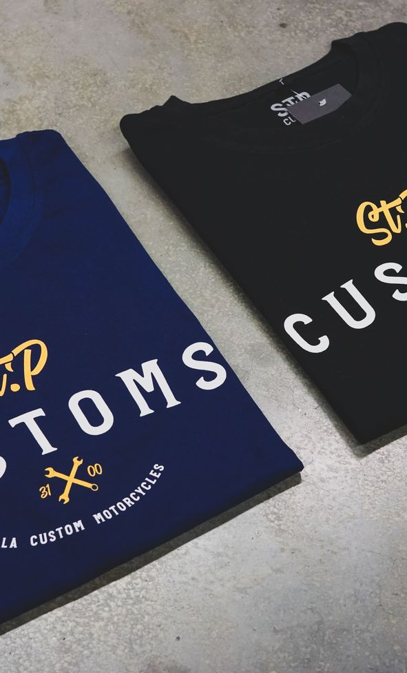stp customs tshirt fashion