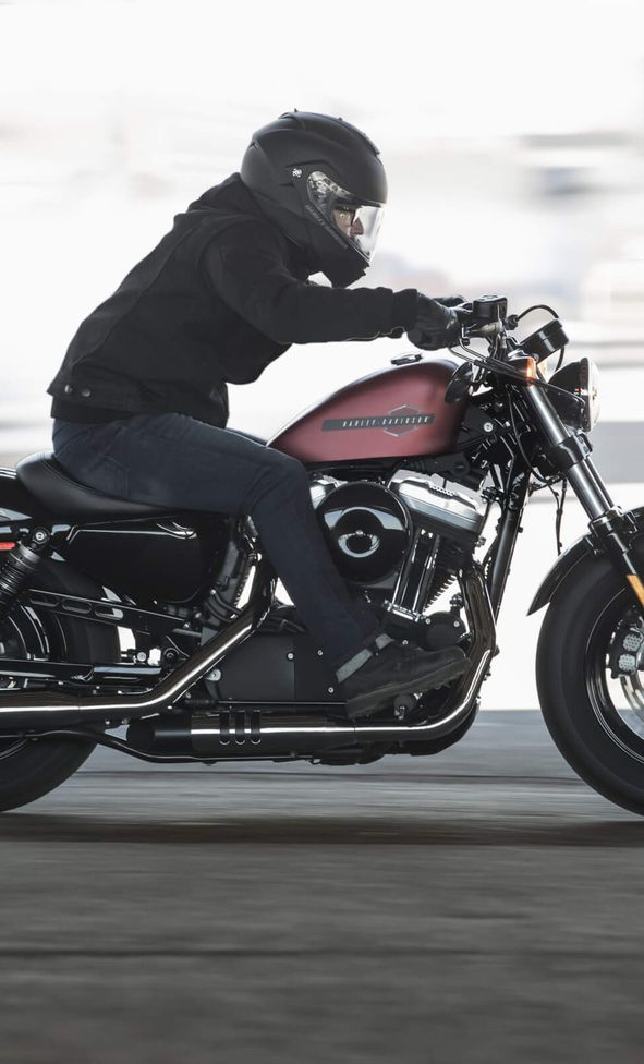 H-D Sportster Forty-Eight Action Foto